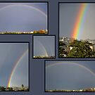 Double Rainbow Collage by Tom Deters