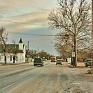 Scene from a Small Town in Texas by Susan Russell