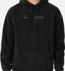 The Shining   Cast from Deleted Scene Pullover Hoodie