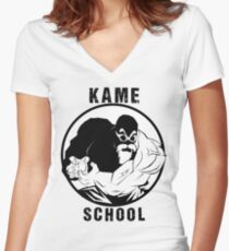 Kame School Women's Fitted V-Neck T-Shirt