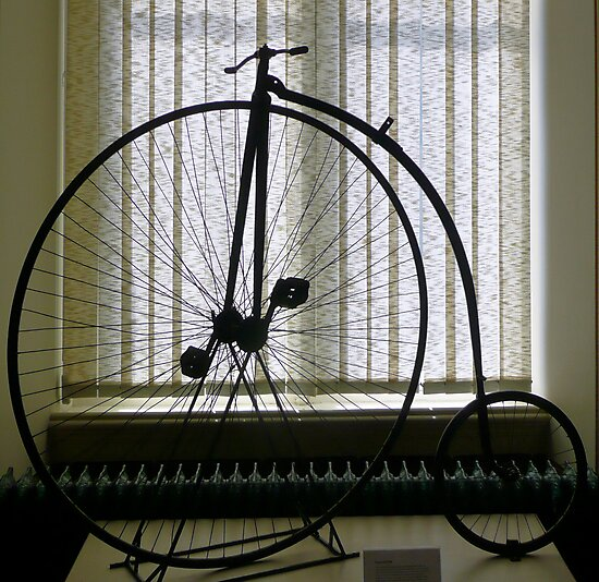 Penny Farthing bicycle by Woodie