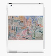 Arriving on Canal Street iPad Case/Skin