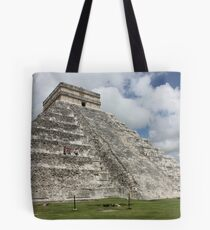 Chichen Itza Mexico Tote Bag