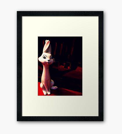 02-28-2011:  Re-capitation of Kitchen Rabbit Framed Print