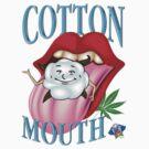 Marijuana Cotton Mouth T-Shirt by bear77