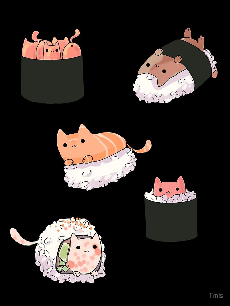 Sushi Cats by Tmis