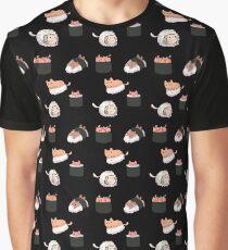 Sushi Cats Graphic T-Shirt