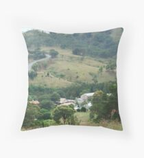 Sofala from Insolvent Hill Throw Pillow
