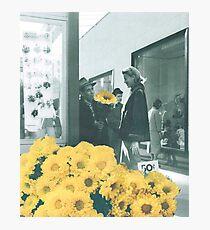 Yellow daze Photographic Print