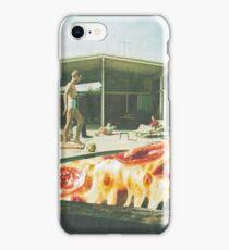 Pizza pool iPhone Case/Skin