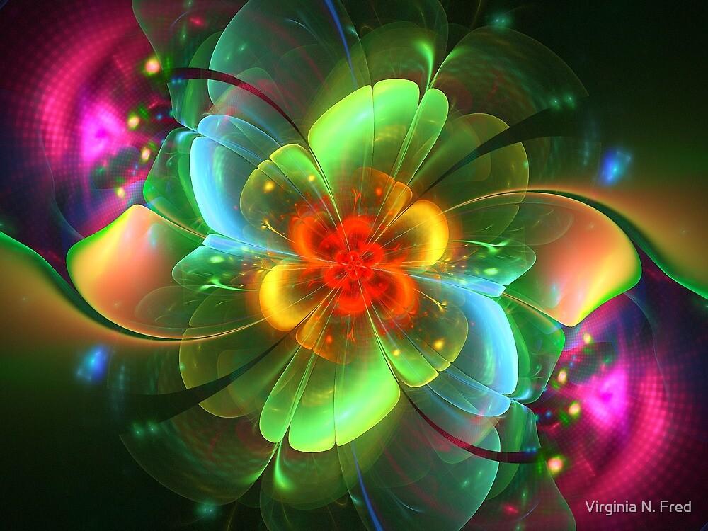 Springtime Blooms by Virginia N. Fred