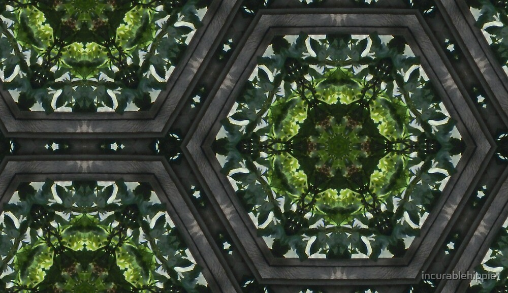 Stained glass greenery by incurablehippie