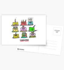 cakeyness Postcards