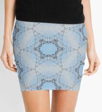 Barbed Wire Stars Mini Skirt