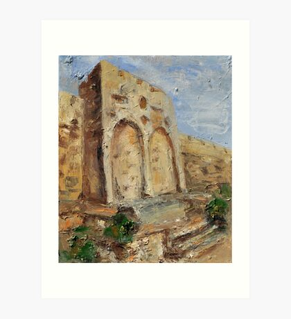 The Gates of Mercy and Truth Art Print