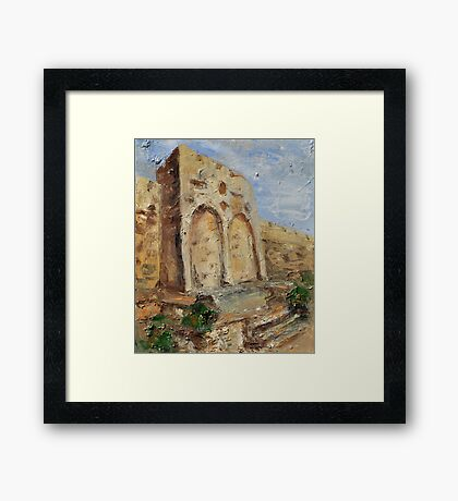 The Gates of Mercy and Truth Framed Print