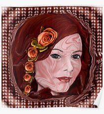 Adara Rosalie Swirls Poster