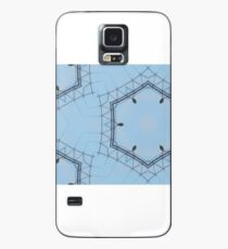 Hexagons of wire Case/Skin for Samsung Galaxy
