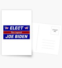 Elect (then impeach) Joe Biden Postcards