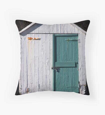 The Hut Throw Pillow