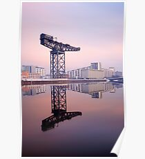 River Clyde reflection Poster
