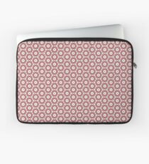 Grey, Red and White Laptop Sleeve