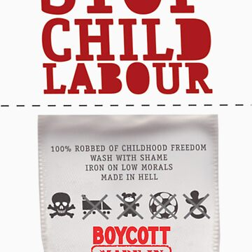 stop child labour by dabear
