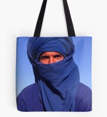 The Man in Blue Tote Bag