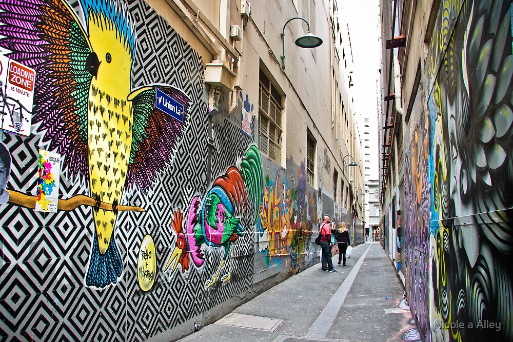 Union Lane, Melbourne by Nicole a Alley