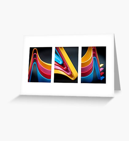 Egg pod Tryptich Greeting Card