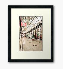 Cathedral Arcade, Melbourne Framed Print