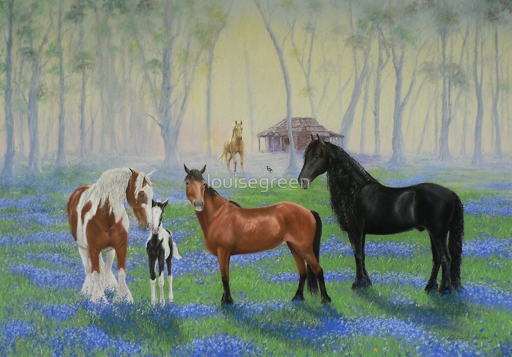 Tina's Meadow by louisegreen