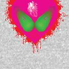 lovebomb iiis evol (blood splatter) by hourevolution