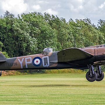 Bristol Blenheim IF L6739 G-BPIV landing at East Kirkby by oscar533