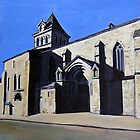 CHURCH IN SOUTHWEST FRANCE by Ray  Johnstone