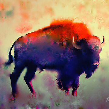 Bison  by rosalin