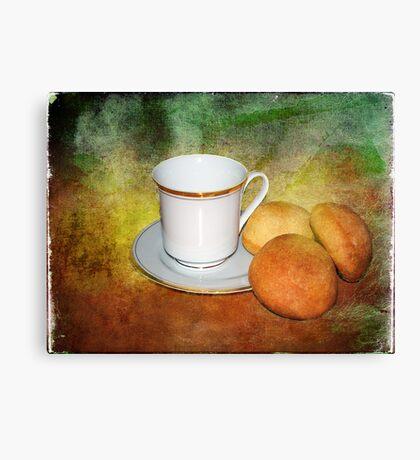 Tea Cup Still Life Canvas Print