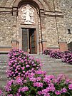 Church Flowers in Tuscany by John Carpenter