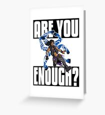Amara The Siren Are You Enough? Borderlands 3 The Tiger of Partali Greeting Card