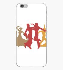 Colorful Flamenco Dancers iPhone Case