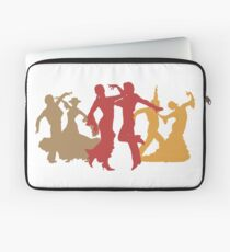 Colorful Flamenco Dancers Laptop Sleeve