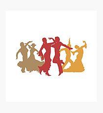 Colorful Flamenco Dancers Photographic Print