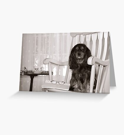 I'll be here waiting for you Greeting Card