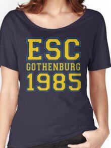 ESC Gothenburg 1985 [Eurovision] Women's Relaxed Fit T-Shirt