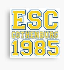 ESC Gothenburg 1985 [Eurovision] Canvas Print
