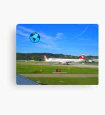 Travel around the world ! Canvas Print