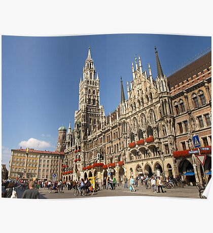 Neues Rathaus, Munich, Germany Poster