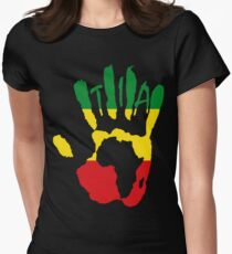 T.I.A ETHIOPIA Womens Fitted T-Shirt