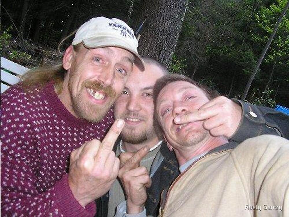 Fuck Y'all Mohawk Man & Co.: Birds Just Fly, XX by Rusty Gentry