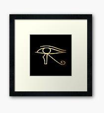 Eye of Horus Egyptian symbol Framed Print